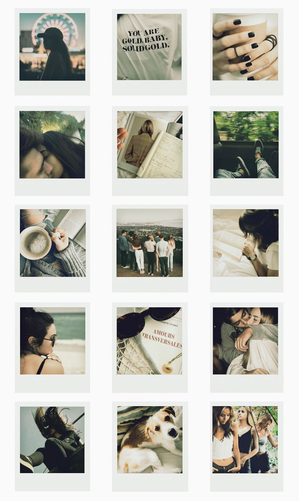 feed instagram polaroids indie tumblr hipster