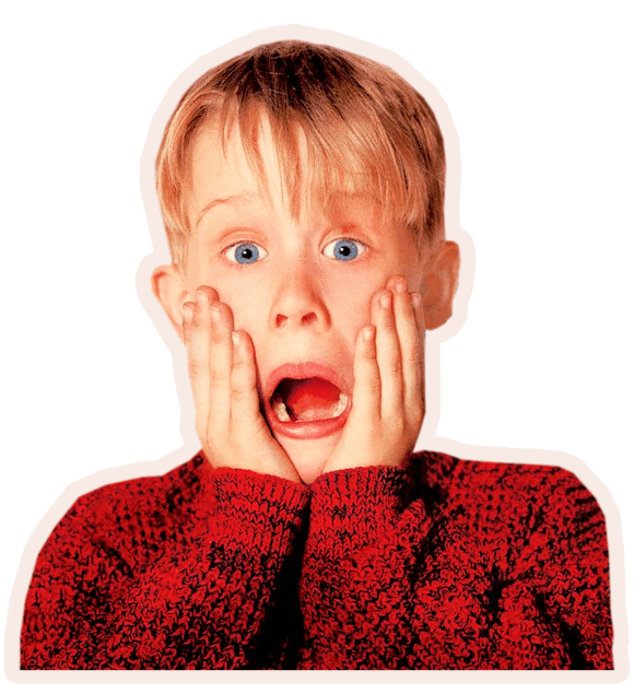 kevin home alone christmas scream natal