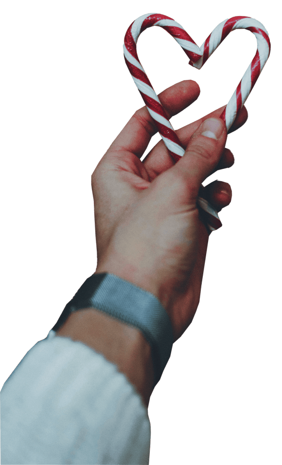 tumblr collage christmas candy sticker