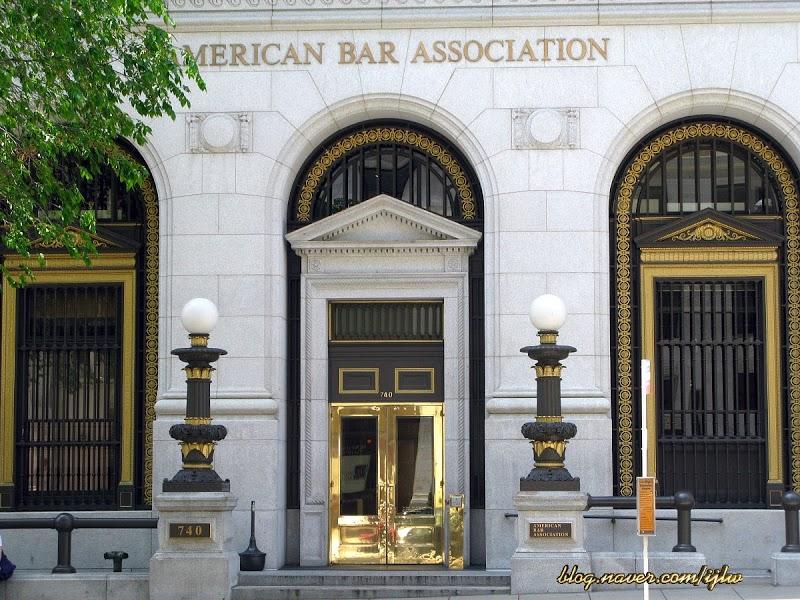 Văn phòng Hiệp hội Luật sư Hoa Kỳ ở Washington, D.C. Ảnh: naver.com.