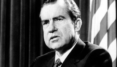 Tổng thống Mỹ Richard Nixon.