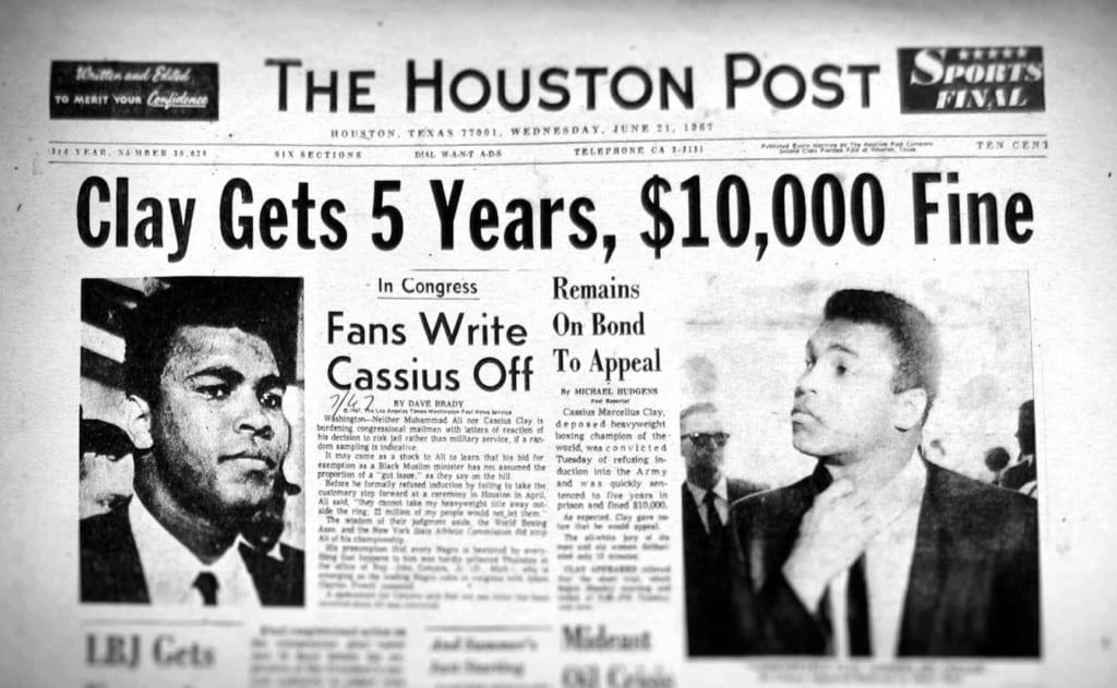 Tin về vụ Muhammad Ali trên báo Mỹ: Người hâm mộ tẩy chay ông (Nguồn ảnh: godfatherpolitics.com)