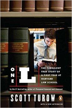 """Bìa sách """"L-Một, Câu Chuyện Có Thật Về Năm Học Đầu Đầy Náo Động Của Một Sinh Viên Luật Harvard"""" (Nguồn ảnh: Amazon.com)"""