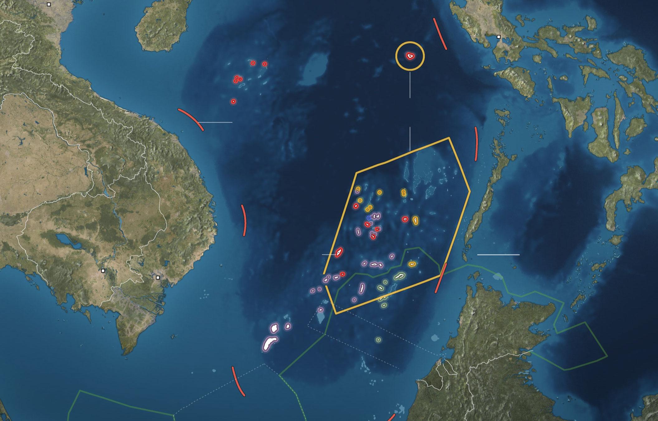 sea disputes