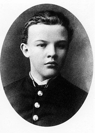 Lenin 17 tuổi (Ảnh: pinterest.com/rajakkumar2020)