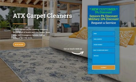 New Website for ATX Carpet Cleaners in Leander