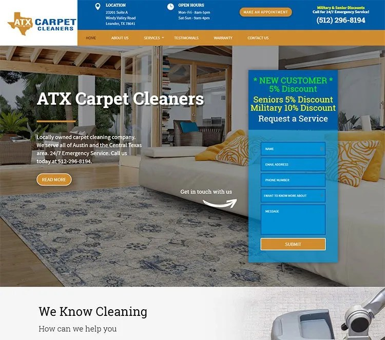 ATX Carpet Cleaners