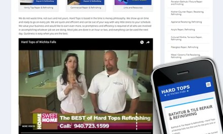 New Responsive Site for Hard Tops of Wichita Falls