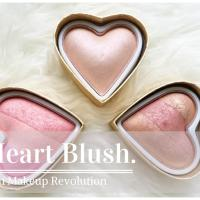 Makeup Revolution Heart Blusher.
