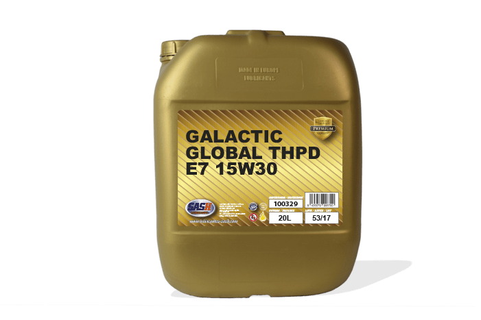 GALACTIC GLOBAL THPD E7 15W-30 Image