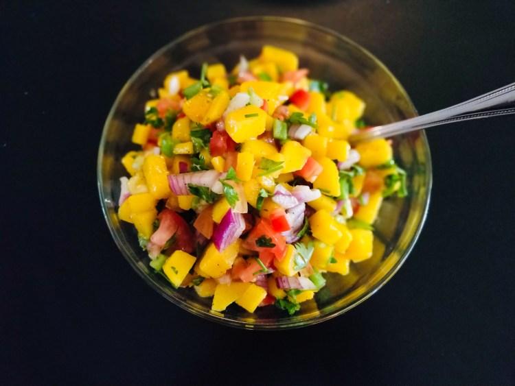 Mango and Tomato Salsa