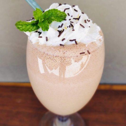 Mint Chocolate Milkshake