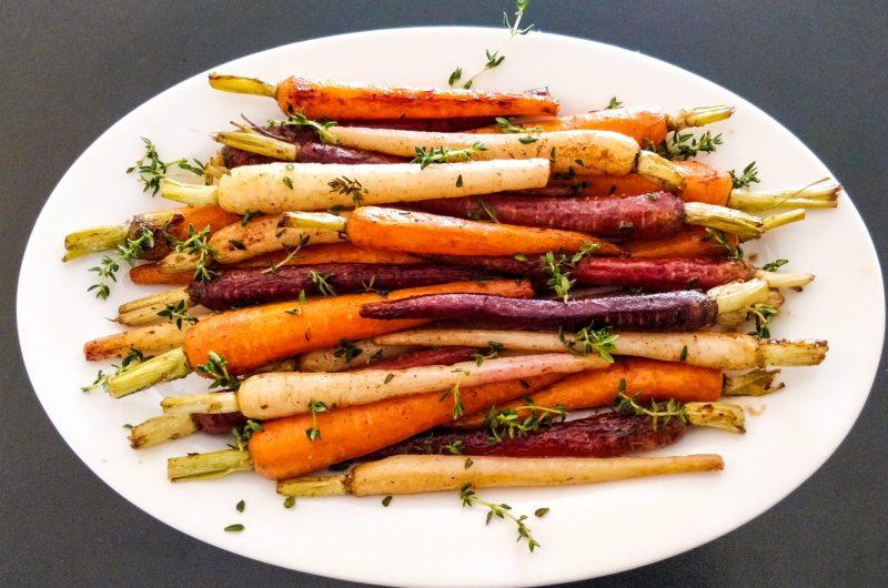 Sweet Rainbow Carrots