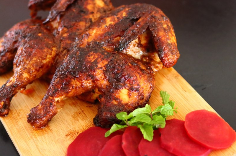 Spatchcock Paprika Chicken