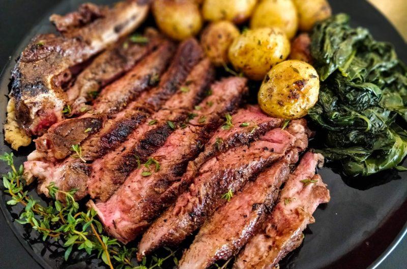 Garlic Butter Steak