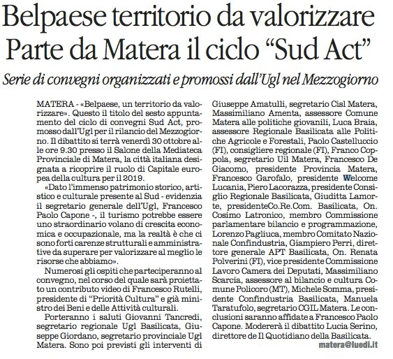 SUD ACT quotidiano 29 10 2015