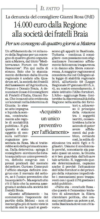 ROSA quotidiano 11 12 2015