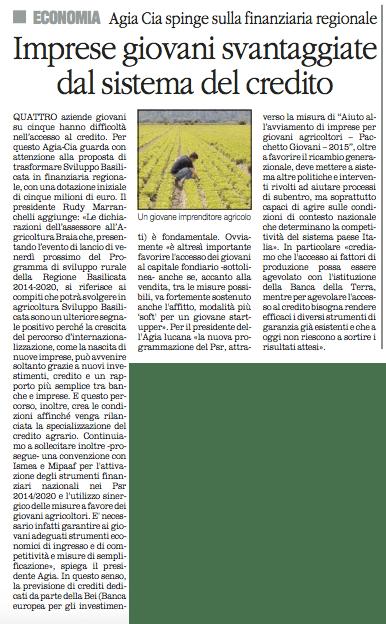 AGIA quotidiano 28 01 2016