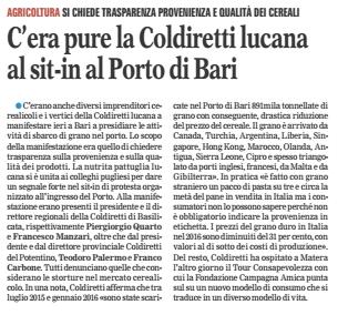 coldiretti gazzetta 25 02 2016