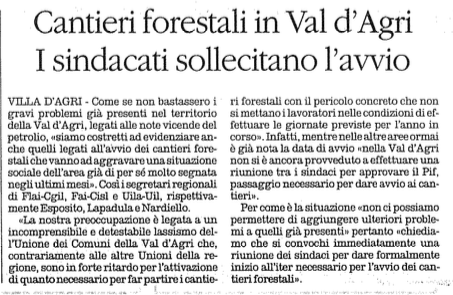 forestali quotidiano 26 05 2016