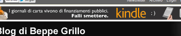 grillo kindle