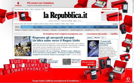 nuova homepage repubblica