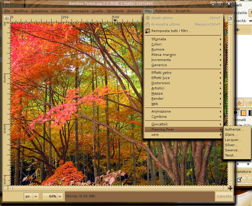 How to use Photoshop plugins in Linux with The Gimp and PSPI - The
