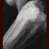 2010 - Pittura lavabile su legno 35x130.  Water paint on wood 35x130.
