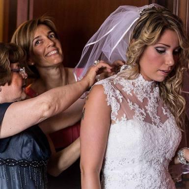 fotografo matrimonio vestito