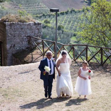 real wedding tuscany