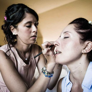 make up matrimonio