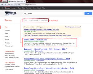 bol.it, spam, servizio clienti, anti-spam, web 3.0, SEO, article SEO,