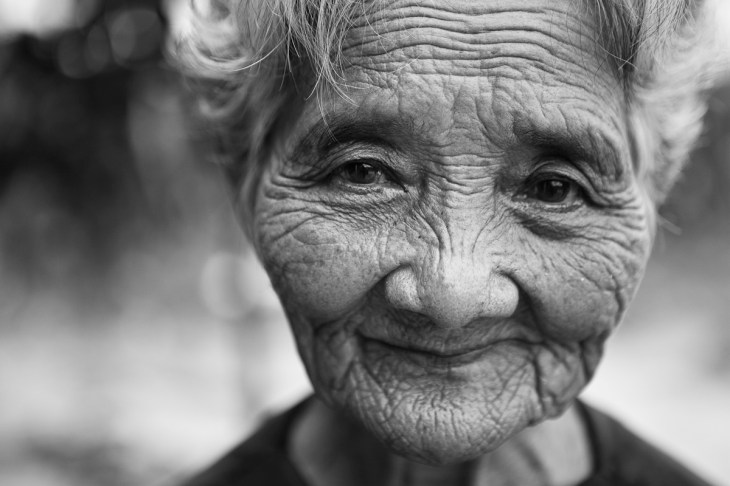 Nguyen Thi Mao, 71 yrs old, anticipates her granddaughter's surgery. Mao is the grandmother of Nguyen Ngoc Nu, an 8-year old child just days away from receiving her lifesaving heart surgery through East Meets West Foundation's Operation Healthy Heart Vietnam. 2007