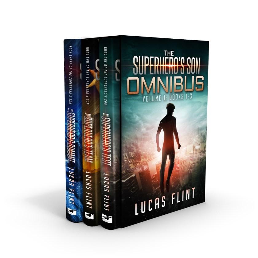 The Superhero's Son Omnibus: Books 1-3