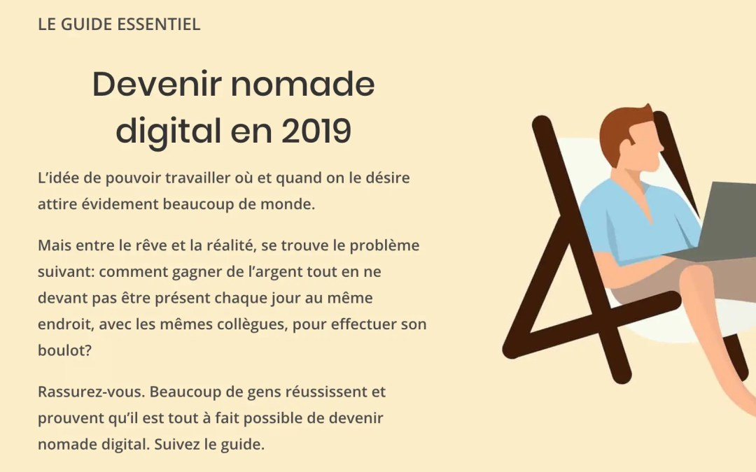 Devenir nomade digital en 2019 (le guide essentiel)