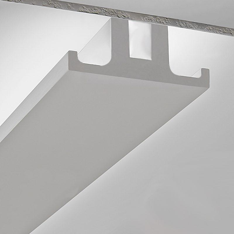In questa sezione, tante cornici diverse con motivi classici e floreali o moderni e geometrici. 3 Metri Cornice In Gesso Per Installazione Su Soffitto Ds5024 Luceled