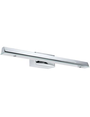 84 cm., in metallo cromato, ideale per l' illuminazione di specchi e quadri. Eglo 91365 Hakana Lamp Wall Mirror Bathroom Led Stripe
