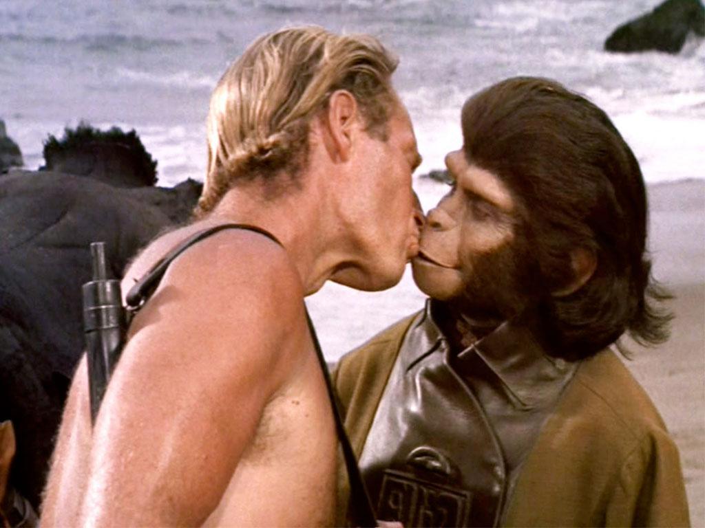 Resultado de imagen para charlton heston planeta de los simios