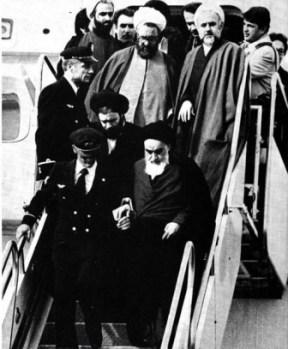 Khomeini motahari tabatabaei ghotbzadeh Lahouti banisadr