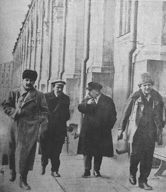 Stalin Rykov Kamenev Zinoviev 1925
