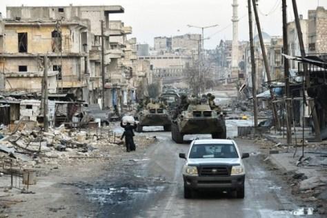 """En lugar de una gran guerra entre los EE.UU. y China, tendremos pequeñas guerras todo el tiempo - """"pequeñas"""" en el sentido de las guerras en Irak y Siria / Imagen: Министерство обороны Российской Российской Федерации Федерации"""