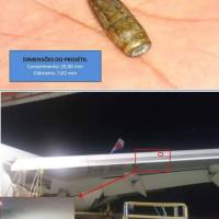 Bullet hole found in LATAM Boeing 767 at Sao Paolo