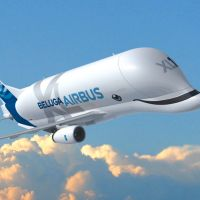 Airbus employees put a smile on the BelugaXL