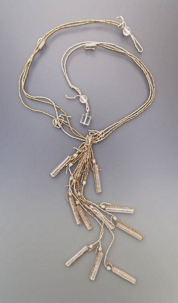 Lucia Antonelli Jewelry Lamp Glass Waterfall