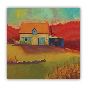 Old Barn Down the Road Lucia Antonelli