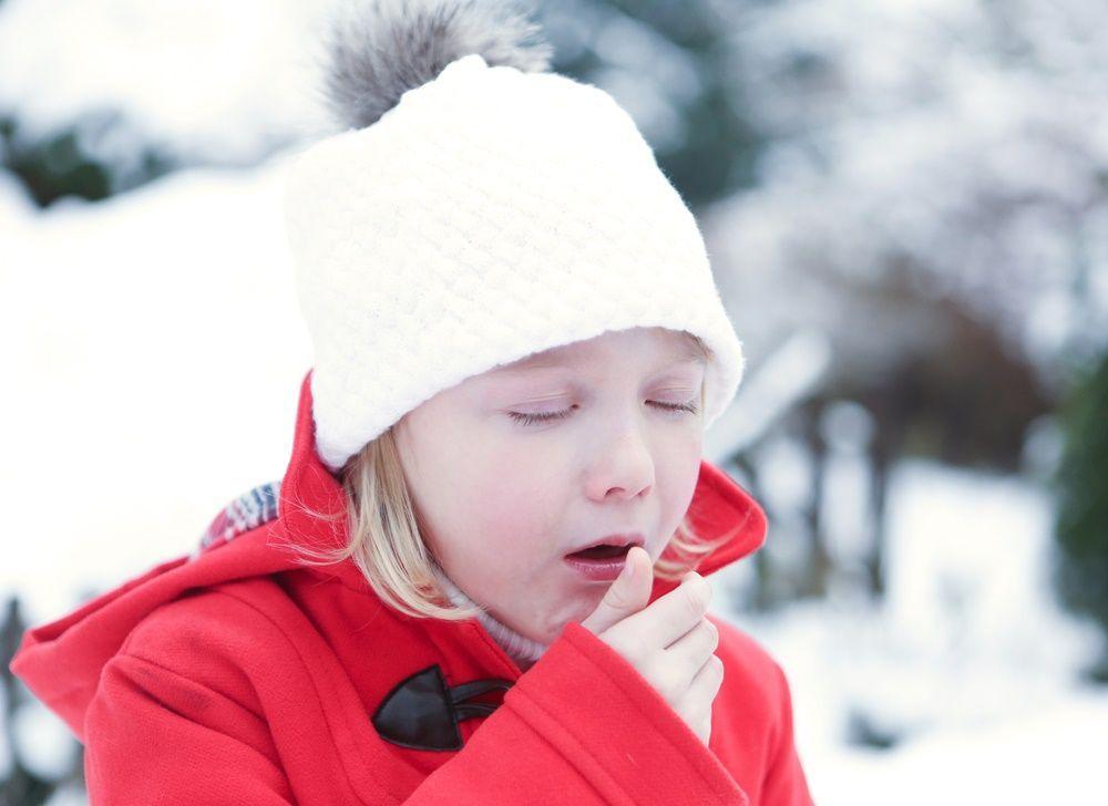 Los niños también tienen gripe.