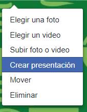 Crea presentación para cabecera en Facebook