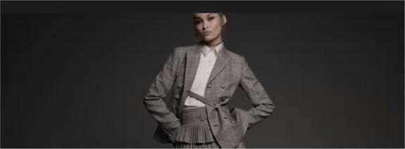 Vídeo de cabecera en la fanpage de Zara