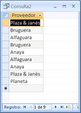 SQL Nombre de las editoriales de los libros que se han vendido
