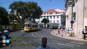 Lisbona - tram Largo de Sè